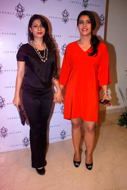 Kajol and others at Sherle Wagner store launch event