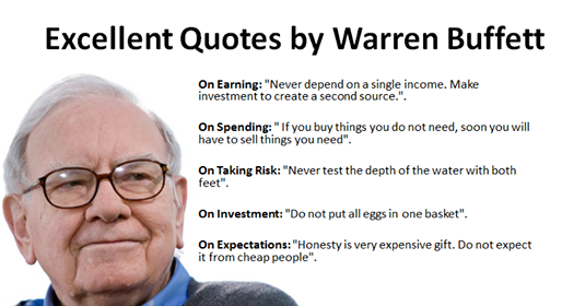 Warren Buffett's Excellent Quotes