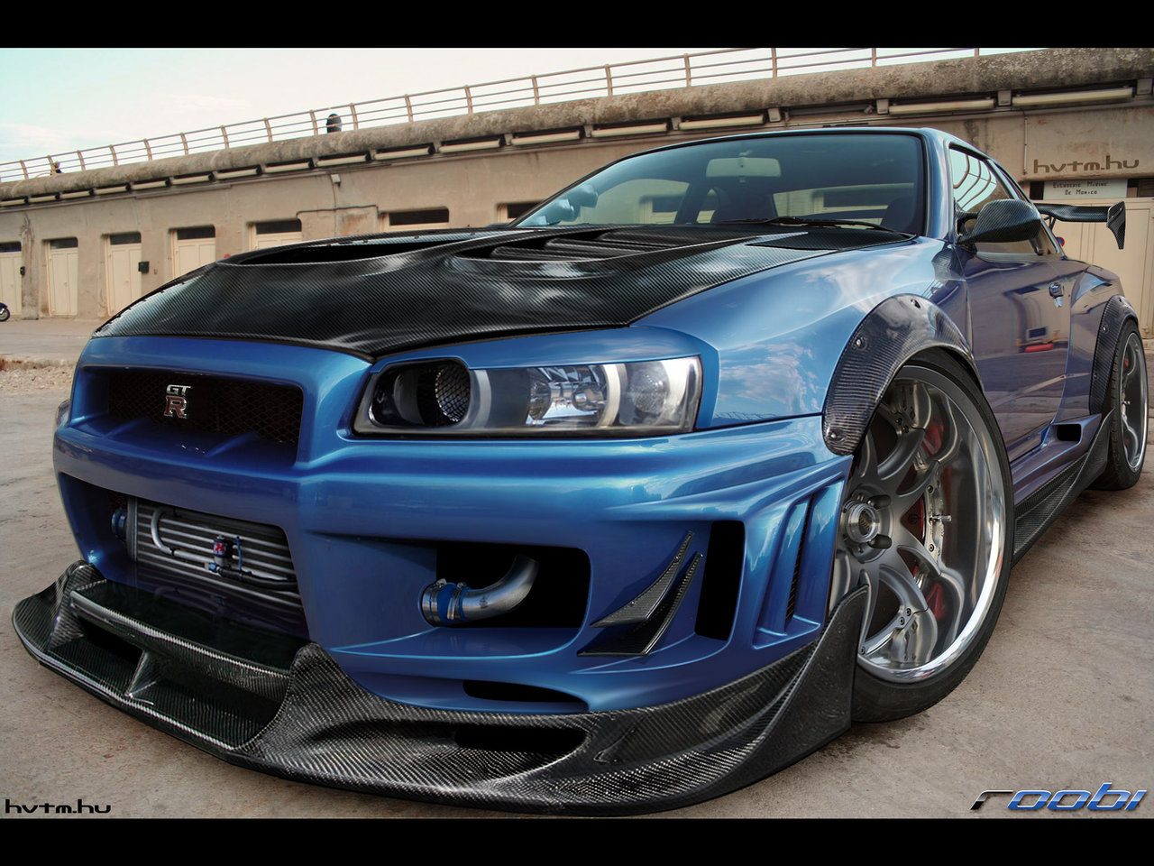 nissan skyline r34 wallpaper its my car club. Black Bedroom Furniture Sets. Home Design Ideas