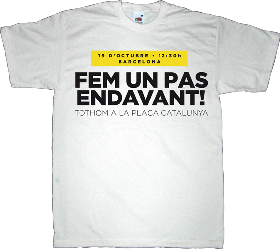 catalonia independence freedom referendum useless spanish politics useless kingdoms assemblea nacional catalana anc t-shirt ephemeral-t-shirts