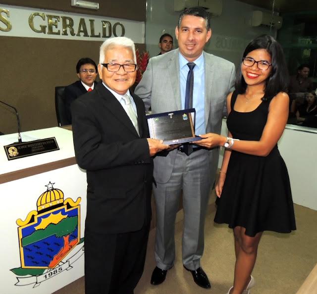 Katsuo Yamaguchi recebe título de cidadão coariense
