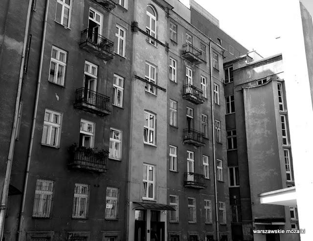 Warszawa Śródmieście oficyna podwórko