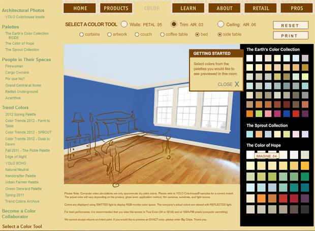 YOLO Select A Color Paint Visualization