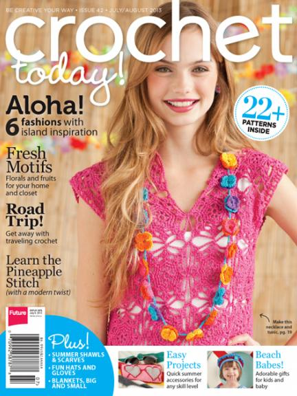 Celtic Knot Crochet Crochet Today Julyaugust Issue Spare Tire