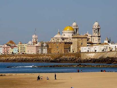 Playa de Santa María del Mar.