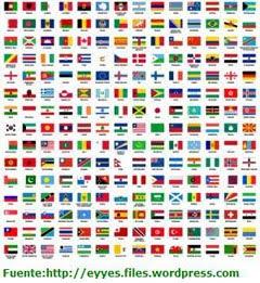 Banderas del Mundo.