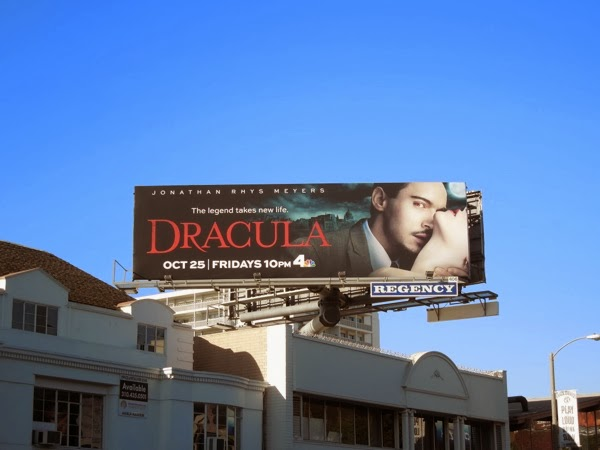 Dracula 2013 TV remake billboard Sunset Strip