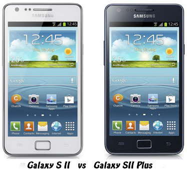Samsung Galaxy S2 vs New S2 Plus, no big changes