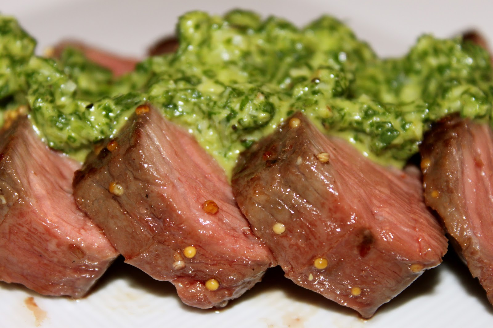 Domestic Divas Blog: Sous Vide Beef Tenderloin with Arugula ...