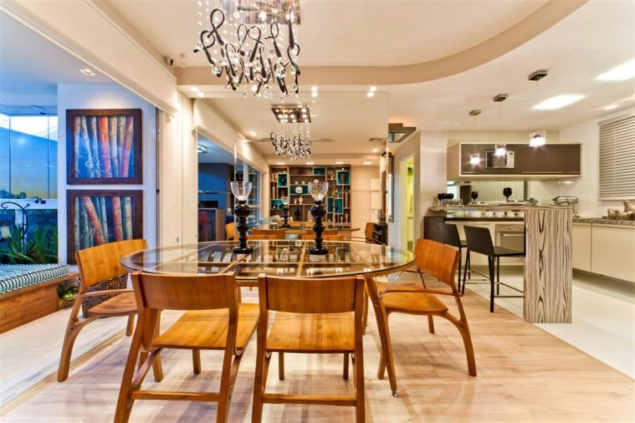 Ademimóveis Imobiliária Sala de jantar e estar, no mesmo ambiente? -> Decoração De Sala De Jantar E Estar No Mesmo Ambiente