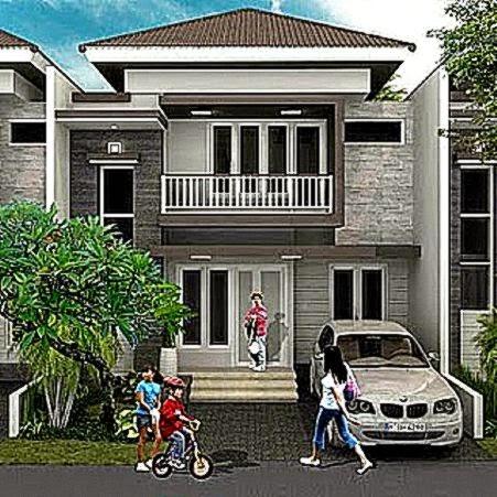 Gambar Rumah Minimalis Bertingkat Contoh Gambar Model Rumah