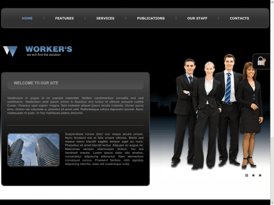 Workers Joomla Business Templates
