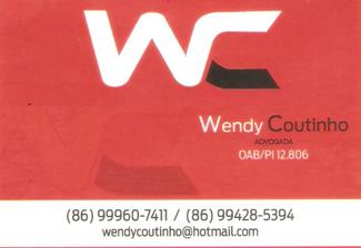 Drª Wendy Coutinho - Advogada