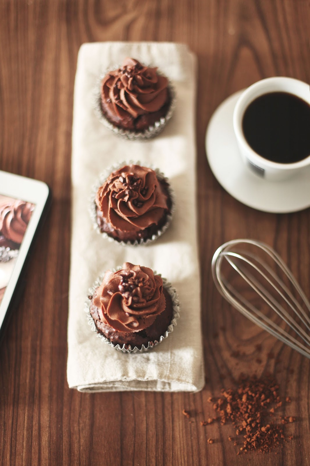 Sugar Break: Espresso chocolate cupcakes