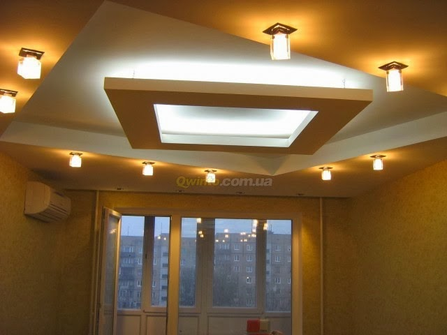 Ceiling Design: 7 false ceiling designs with ceiling lighting for ...