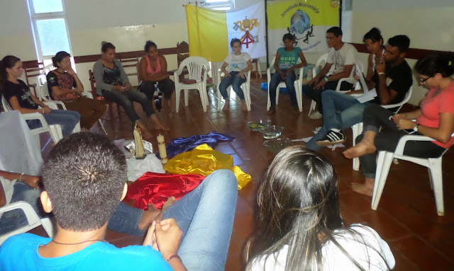 JM é apresentada aos jovens de Cáceres (MT)