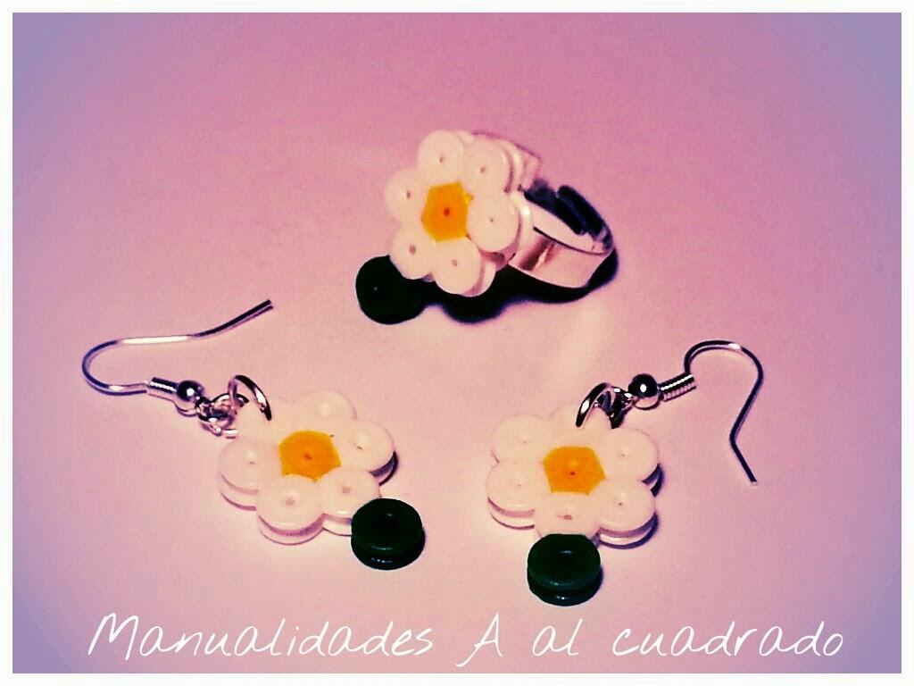 Pendientes de Hama Beads
