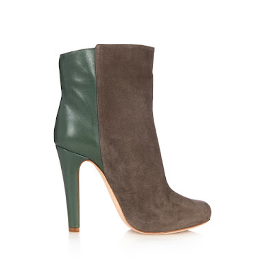 Malone Souliers bi-color suede ankle boots