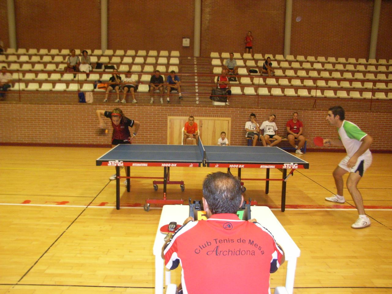 Patronato municipal deportivo de archidona torneo tenis de mesa - Torneo tenis de mesa ...