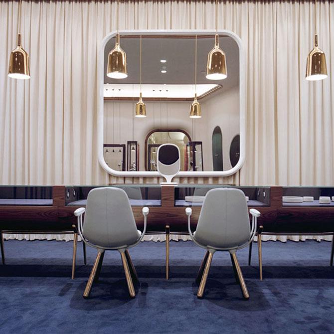 modern jewelry store interior design