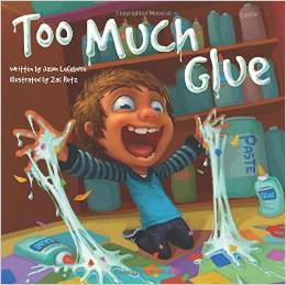 http://www.amazon.com/Too-Much-Glue-Jason-Lefebvre/dp/1936261278