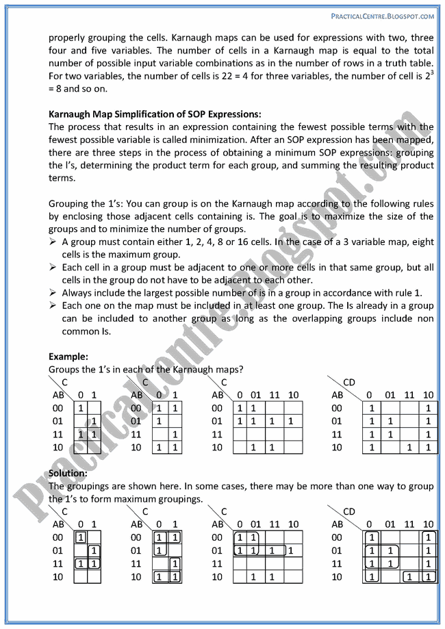 boolean-algebra-descriptive-questions-answers-computer-9th