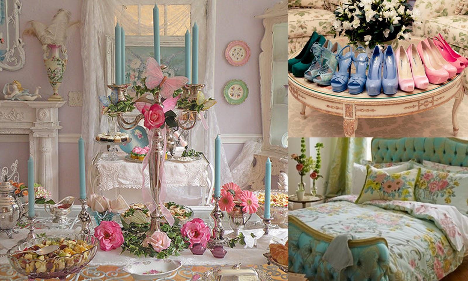 Spanglish Chic: Marie Antoinette Inspired Decor {Decoracion Inspirada por Maria Antonietta}