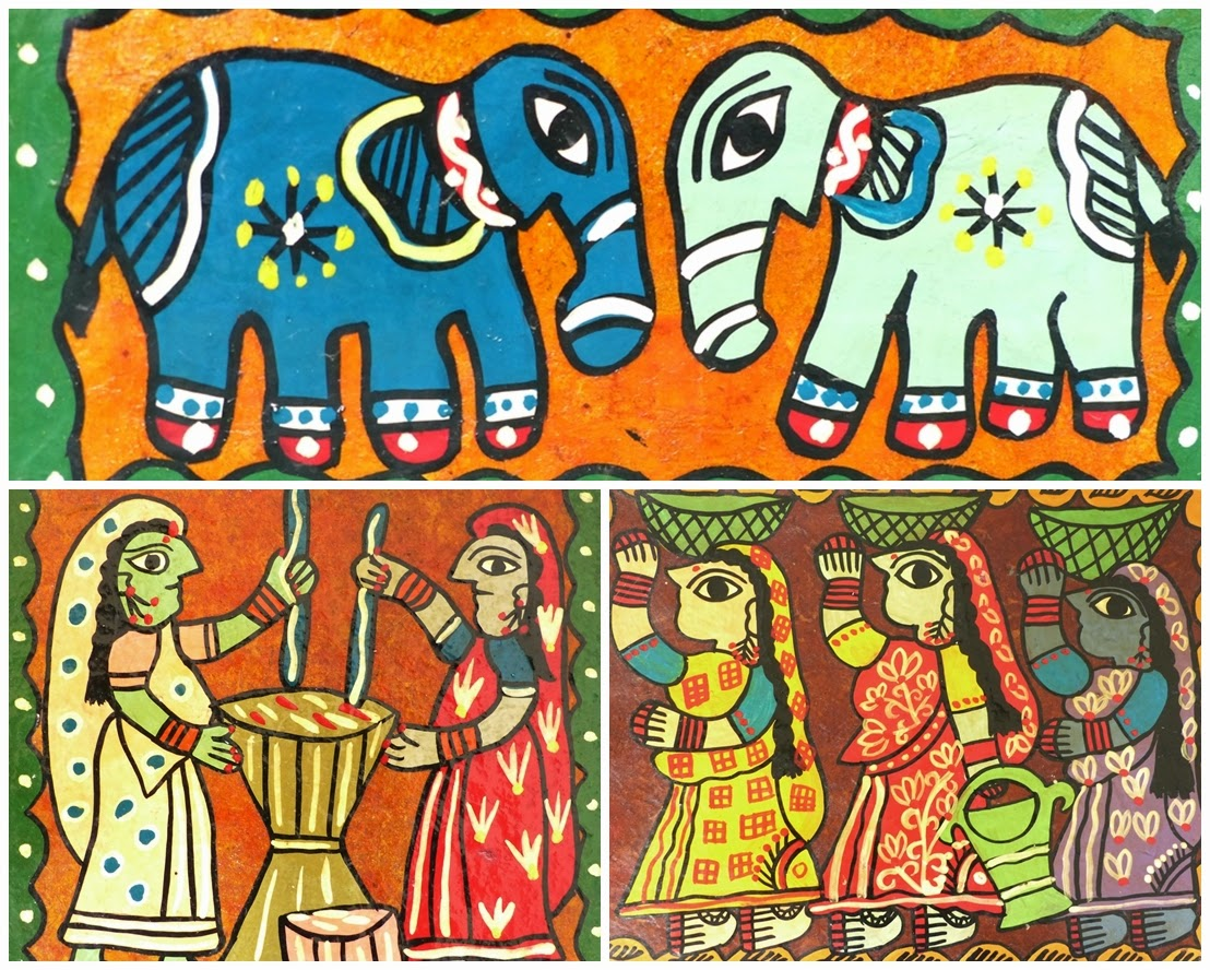 Nepalese Madhubani paintings