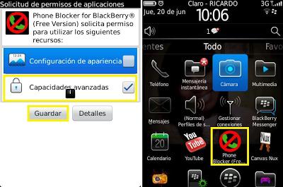 phone block