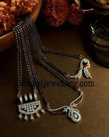 22 carat Nallapusalu/black beads Jewellery