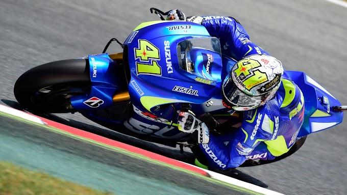 Latihan Bebas MotoGp Ke dua Seri Catalunya - Suzuki Mengkilap Bro!