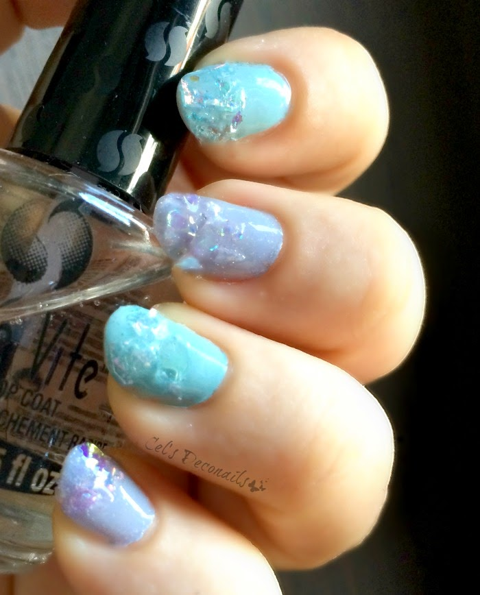 Iridescent pastel nails for spring, a quick and easy tutorial
