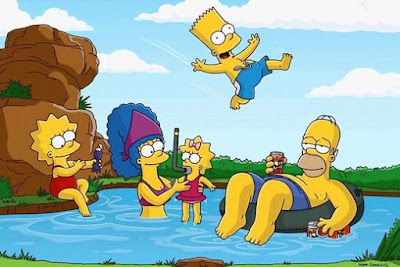 Los Simpsons, cine series y tv