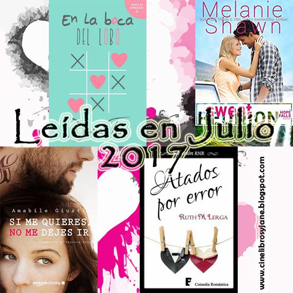 Leídas en julio 2017 - Cine, Libros y Jane Austen