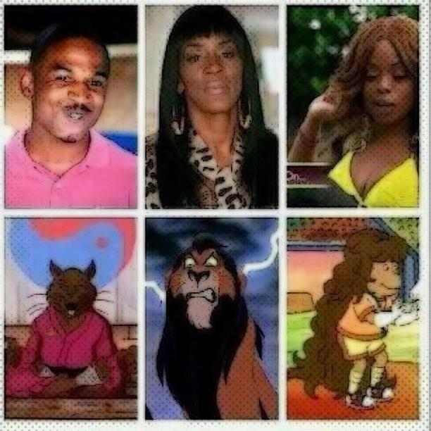 LOVE & HIP HOP ATLANTA CAST + THE CARTOONS THEY REMIND US OF