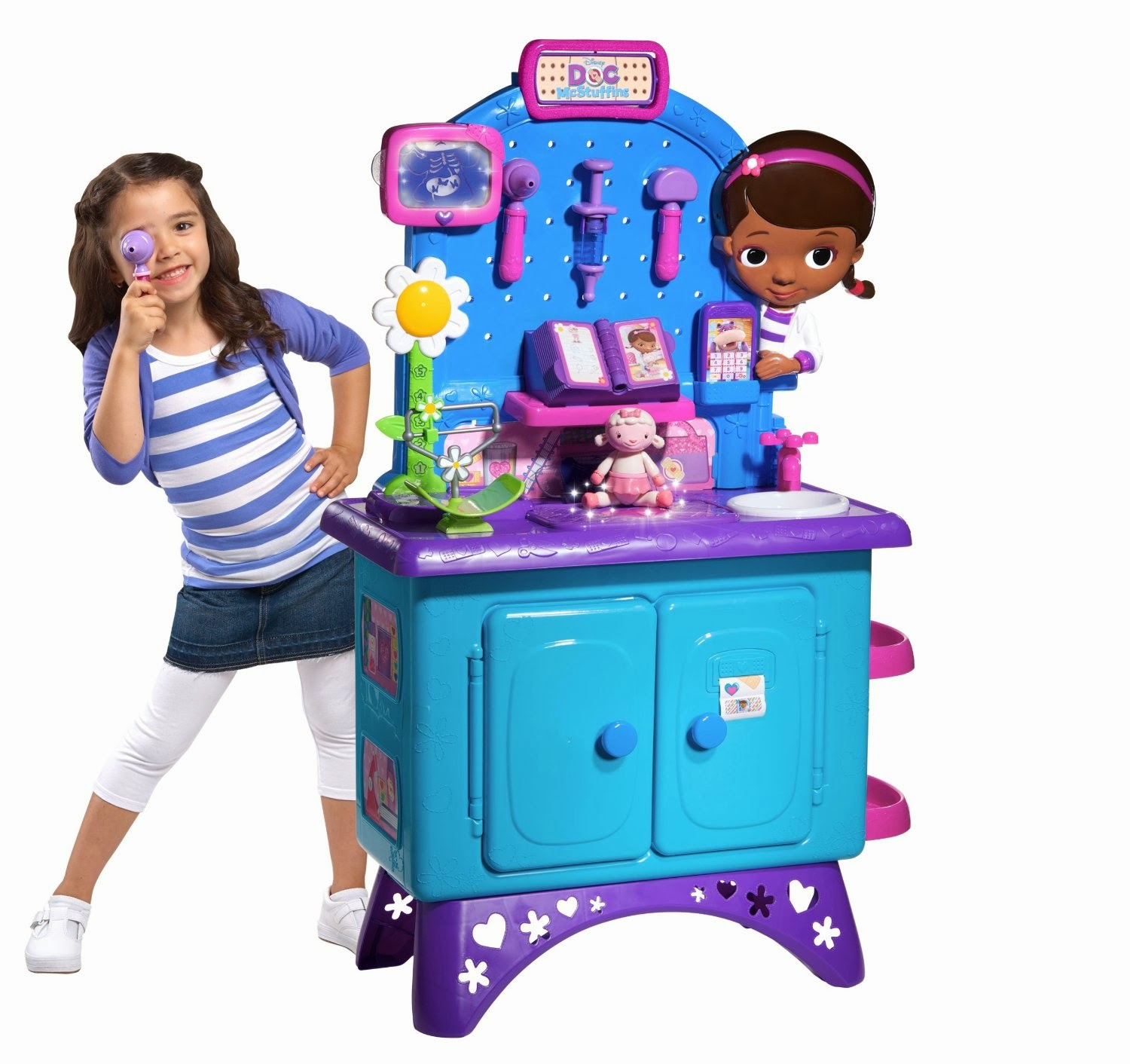 The Doc McStuffins Deluxe Get Better CheckUp Center