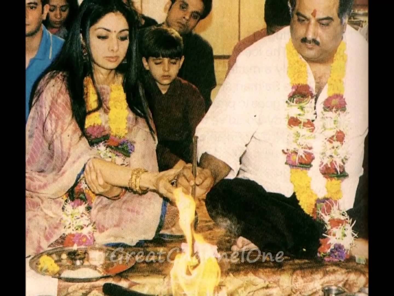 Sridevi Marriage Photos