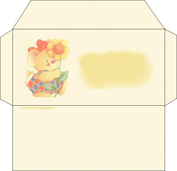 ato de educar envelopes