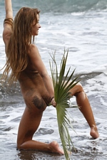 "Masha C. in ""Ocean Palm"" at Erotic Beauty"