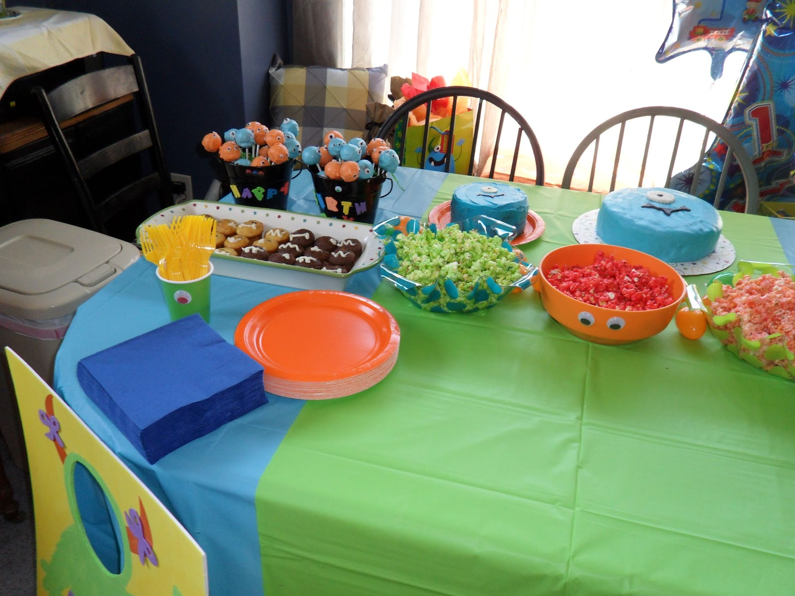 Our Projects Monster Birthday Party