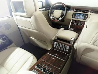 Gli interni di Range Rover 2013, lusso ed eleganza