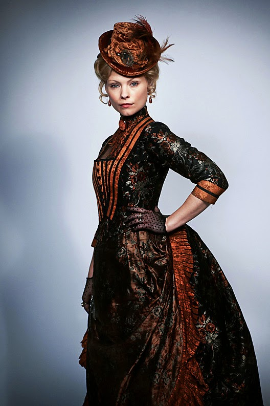 MyAnna Buring in Ripper Street - Affordable Wedding Dresses: Victorian