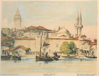 istanbul ottoman old galata tower