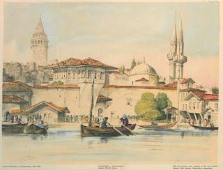 istanbul ottoman old galata tower
