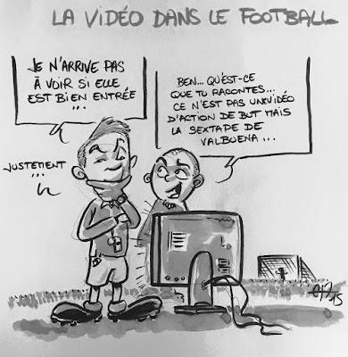 La vidéo dans le football encore d'actualité.. #Sextape #Valbuena #SextapeValbuena #VideoFootball