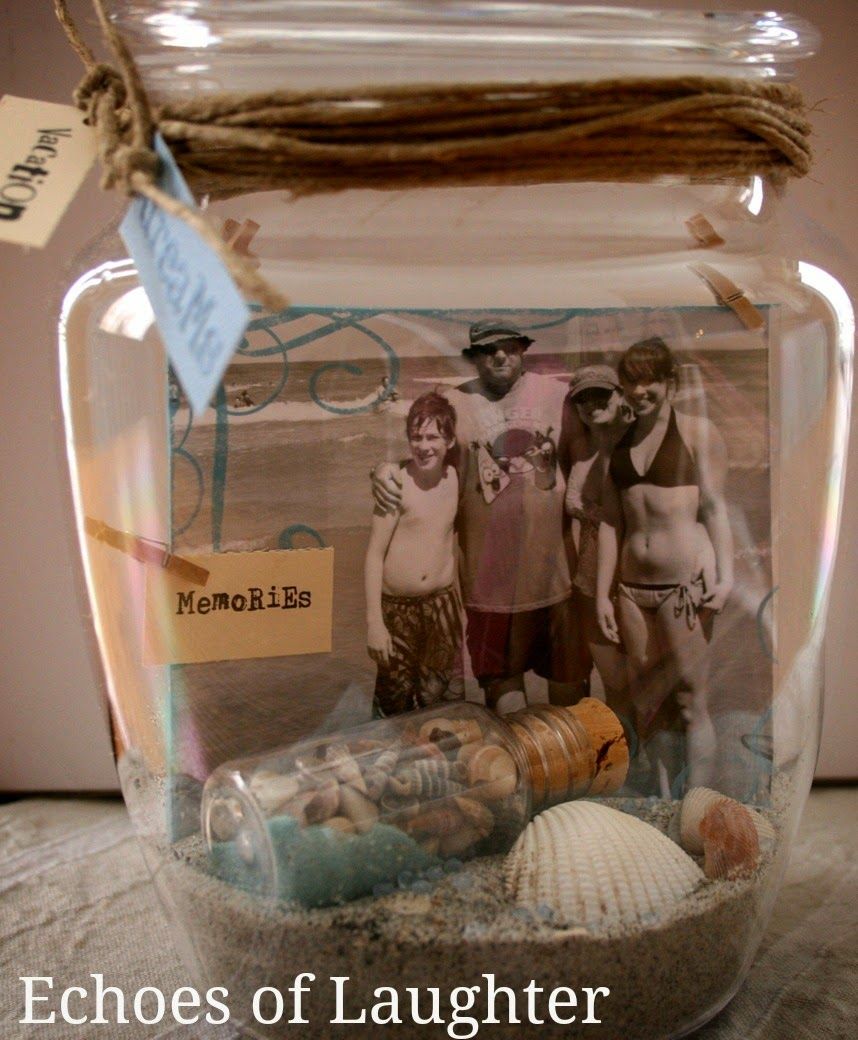 Christmas Gift Idea-Photo Memory Jar