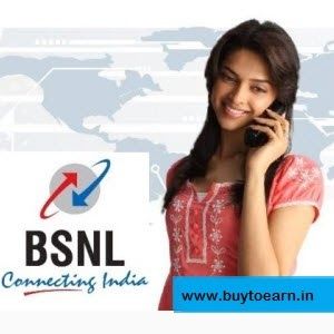 BSNL Unlimited free calls between 9 pm to 7am on landline & mobile of any network within India : Buy To Earn