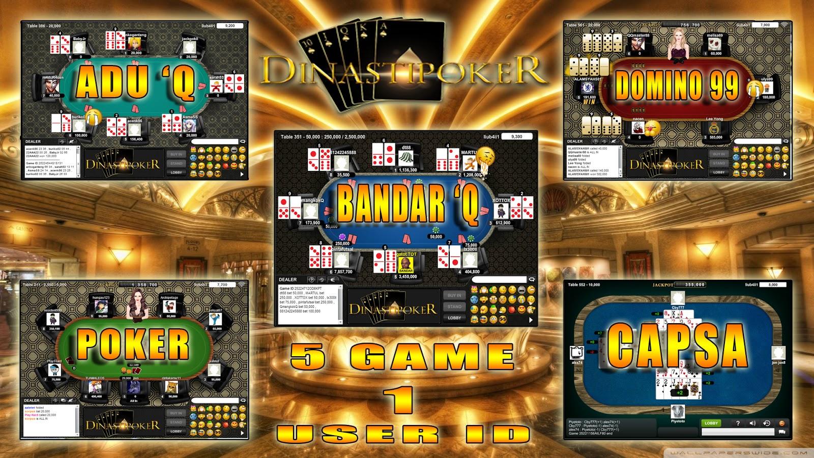 Poker dengan duit asli