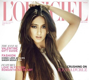 Ileana D'cruz Cover L'Officiel Feb 2013