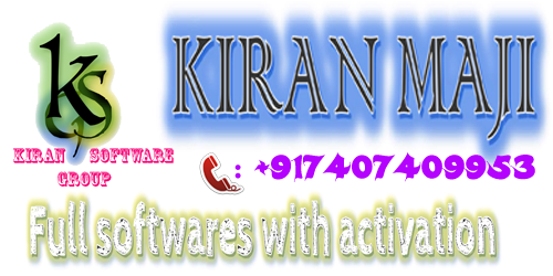 !!! WELCOME TO KIRAN SOFTWARE GROUP !!!